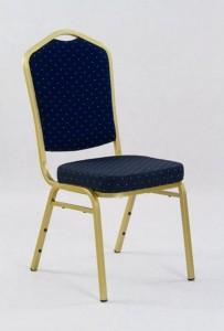 krzeslo granatowe